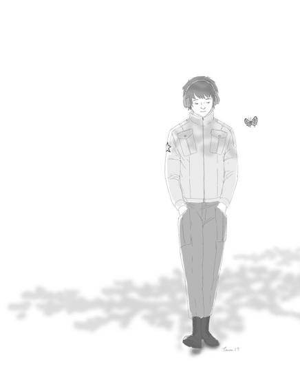 a man and a butterfly #5